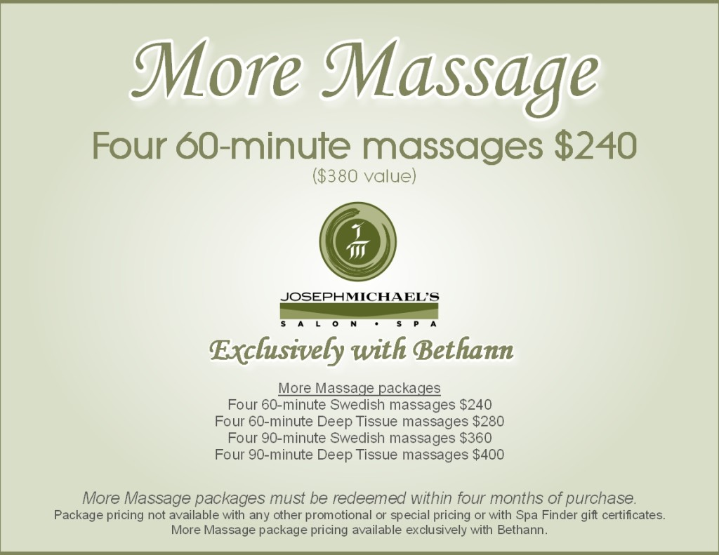 More Massage
